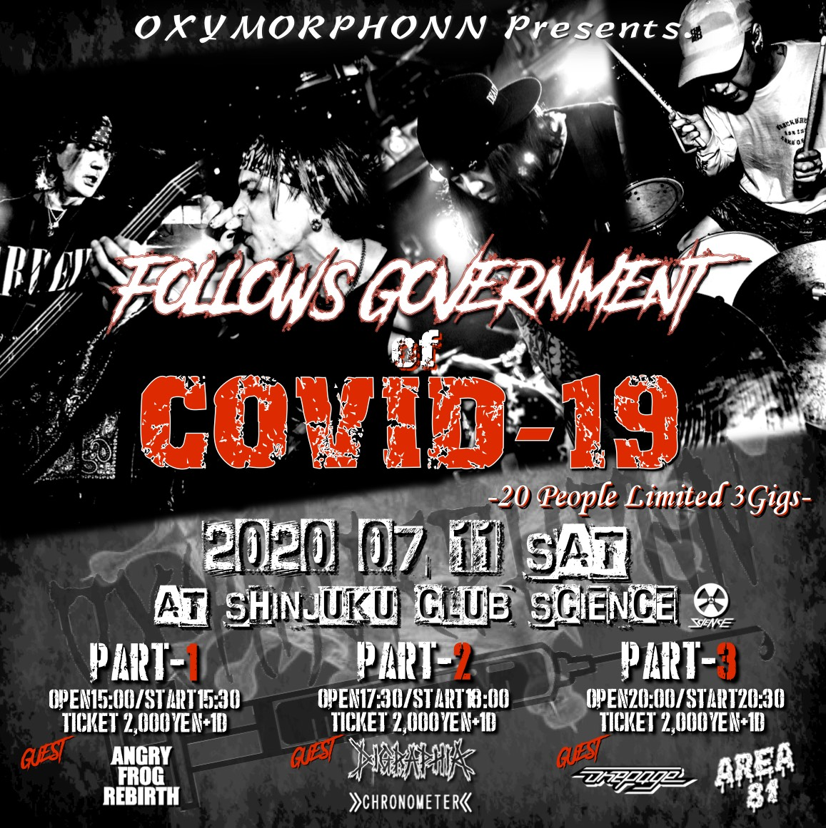 """""""FOLLOWS GOVERNMENT of COVID-19"""""""